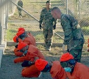 עצירים בגוואנטנמו עם הגעתם